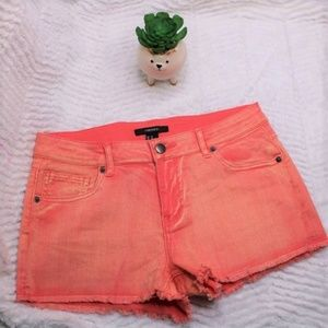 Forever 21 Womens Size 27 Peach Coral Shorts